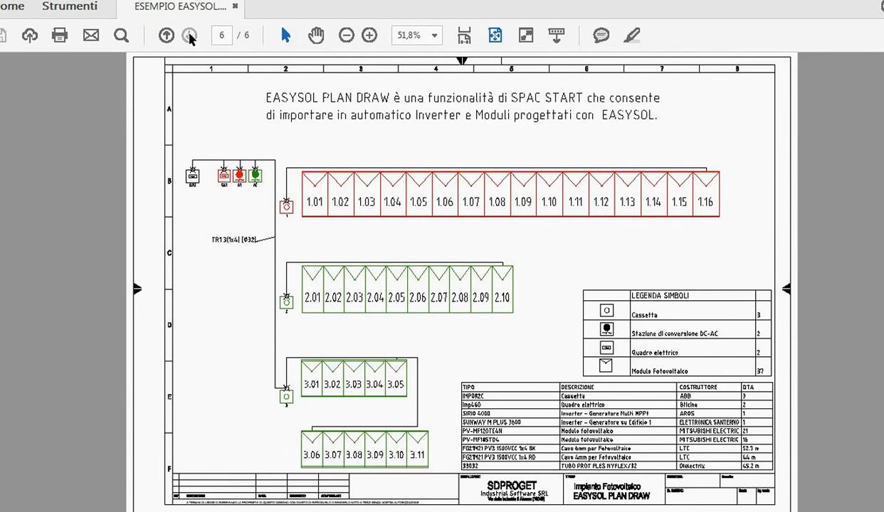 Software per la progettazione di impianti fotovoltaici 28